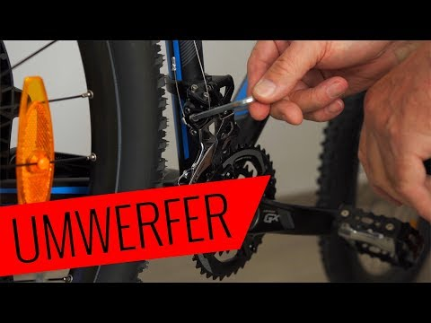 Shimano Umwerfer wechseln - einfach & schnell - Fahrrad.org