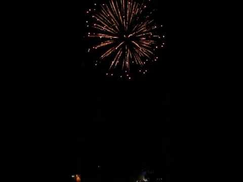 Feuerwerk 07.05.11 Mahlower See