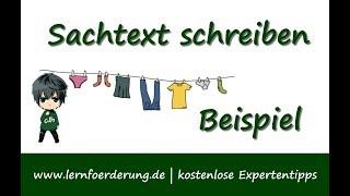 Wie Macht Man Zusammenfassung Zu Sachtext Schule Deutsch