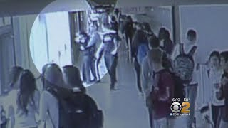School Security Guard Saves Choking Student