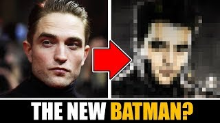Drawing ROBERT PATTINSON as THE NEW BATMAN !?!