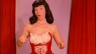 Bettie Page Burlesque Strip Teaserama 1 - Betty Page