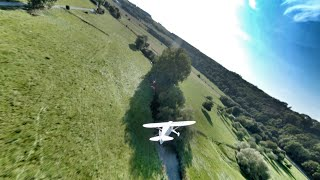 Chasing the Airplane and Traxxas E-Revo 2 - Dji FPV System - Freestyle Germany - Mc Fly FPV