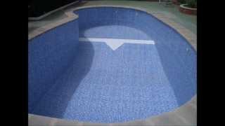 preview picture of video 'Impermeabilizar la piscina: ponga solución a las fugas de agua'