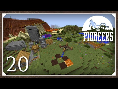 Minecraft Mods: The Pioneers 1.8.9 Modpack | Anti-Climax | E20 (Modded SSP)