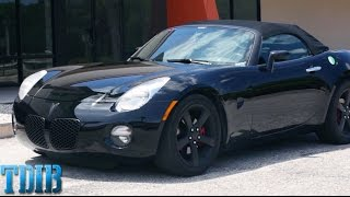 Pontiac Solstice Review!- An American Relic Roadster?