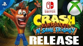 PlayStation Fan UPSET CRASH BANDICOOT Switch Xbox One & PC