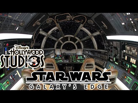 Millennium Falcon Smugglers Run POV at Disney's Hollywood Studios!