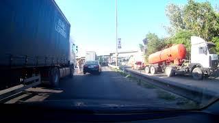 ДТП 21.06.2018 Заезд на южный мост со столички