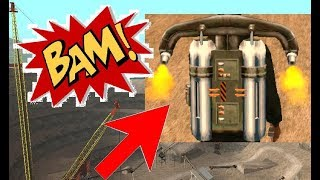 GTA San Andreas - Explosive Situation - using a Jetpack - Casino Mission 2
