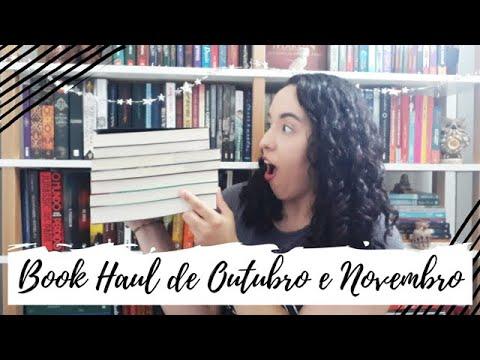 Book Haul de Outubro e Novembro (2019)   Um Livro e Só