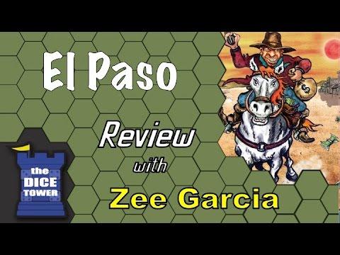 The Dice Tower reviews El Paso