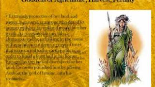 Demeter - The Greek Goddess of Agriculture, Harvest, Fertility