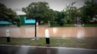 preview picture of video 'Tormenta Lucrecia- Neuquén capital - lunes 07/04'