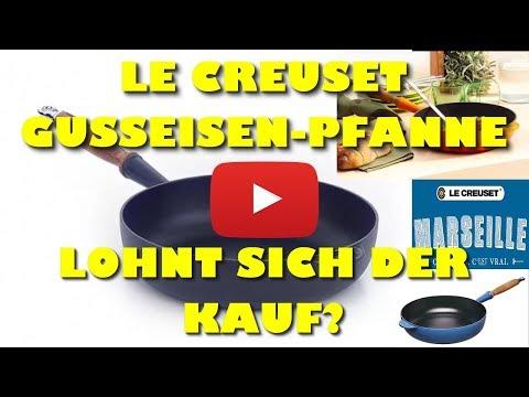 Le Creuset Gusseisen Sauté Pfanne mit Holzgriff 28 cm Test - Beste Grillpfanne?