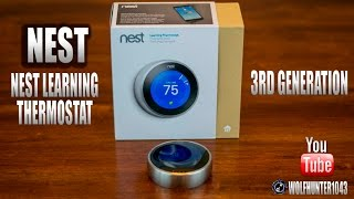 Nest Learning Thermostat 3rd Gen Unboxing/Install/Features/Review