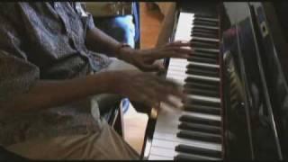 John Peyton jams with blues legend Pinetop Perkins