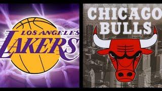 Chicago Bulls Vs. Los Angeles Lakers LIVE STREAM Reaction