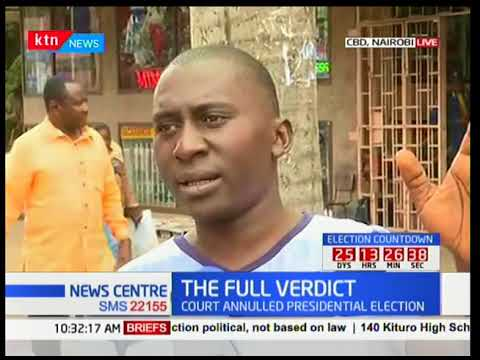 Kenyans react to the Supreme Court full verdict