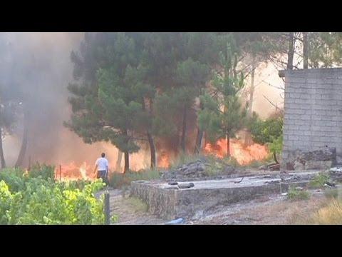 Das Flammen-Inferno