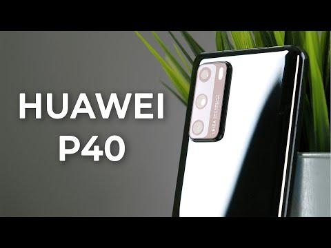 Смартфон Huawei P40 (ANA-NX9) полночный черный