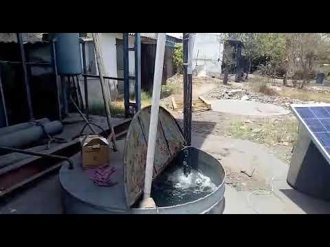 1 Hp Solar Openwell Pump Combo