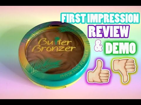 First Impression: Physician's Formula MuruMuru Butter Bronzer Review & Demo