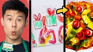 Can These Chefs Turn This Elf Drawing Into Real Meals? • Tasty