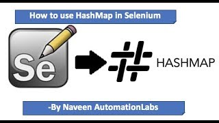 How to use HashMap in Selenium WebDriver || Interview Question