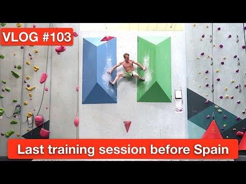 LAST TRAINING SESSION BEFORE SPAIN |VLOG #103