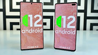 Samsung Galaxy S10 & Note 10 ANDROID 12 READY! Still Worth it?