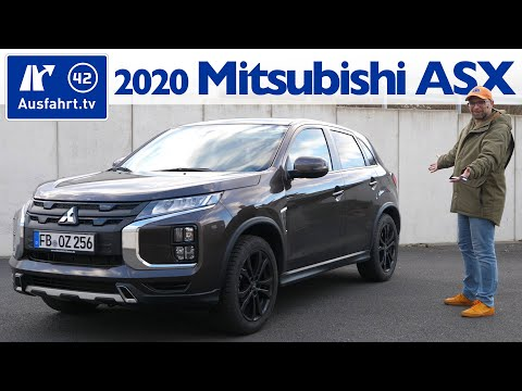 2020 Mitsubishi ASX Plus 2.0 MIVEC 5MT MY2020 - Kaufberatung, Test deutsch, Review, Fahrbericht