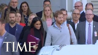 Prince Harry And Meghan Markle Arrive In Australia To Start 16-Day Pacific Tour   TIME