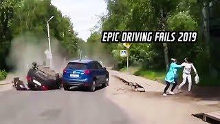 Epic driving fails 2019