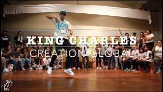 King Charles (Creation Global) | Host Showcase | Chicago Footwork 1v1 | #SXSTV