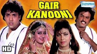 Gair Kaanooni {HD}  Govinda  Sridevi  Rajinikanth  80s Hit Movie