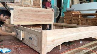 Làm giường ngăn kéo (making drawer beds)