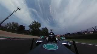 Aldo Costa sulla Mercedes F1 al Minardi Day 2018