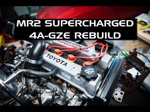 Фото к видео: 4A-GZE Engine Rebuild