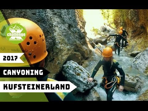x-challenge goes Kufstein 2017 || CANYONING