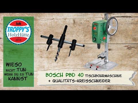 Bosch PBD40 /Tischbohrmaschine /Standbohrmaschine / Japanischer Qualitäts-Kreisschneider