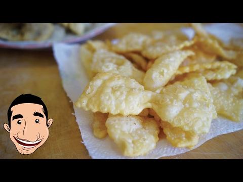 NONNA'S CHIACCHIERE RECIPE | How to Make Italian Fried Cookies | CROSTOLI