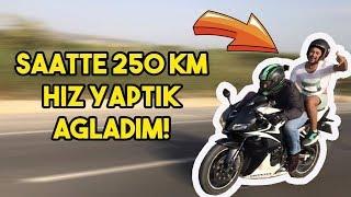 250 km hiz yaptim !