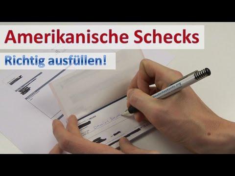 , title : 'US-Scheckheft ► Wie man richtig Schecks ausfüllt!
