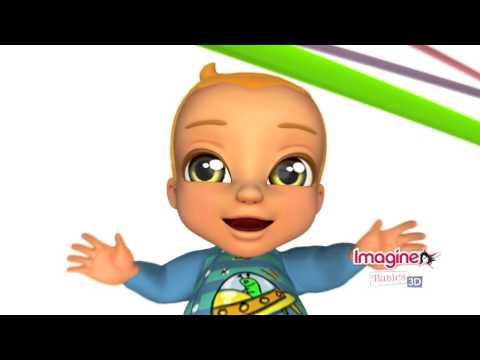 Видео № 0 из игры Imagine Babies 3D (Б/У) [3DS]
