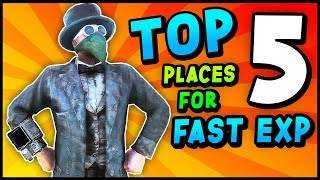 Fallout 76 - Top 5 LOCATIONS For FAST LEVELING For Low, Mid & High Level Players (Fallout 76 Guide)