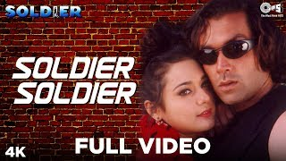 Soldier Soldier | Kumar Sanu | Alka Yagnik | Soldier Movie