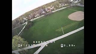Practicing FPV Race Drone