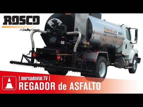 Camiones Regadores Asfalto Rosco Maximizer II - Leeboy | Mercado Vial TV