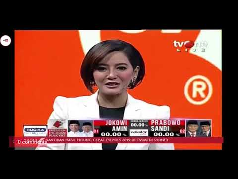 Live streaming hasil quick count pilpres 2019 with tv one
